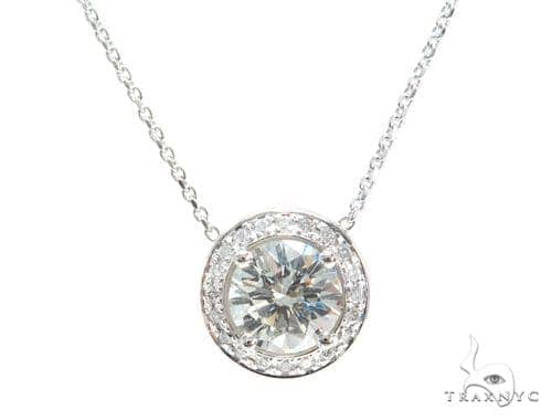 Prong Diamond Necklace 43093 Diamond
