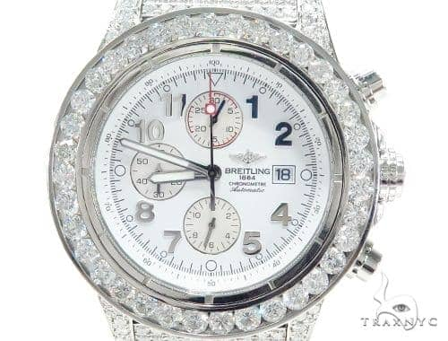 Breitling Super Avenger Fully Diamond Watch 42800 Breitling