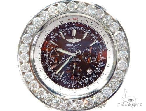 Breitling Bently Fully Diamond Watch 43134 Breitling
