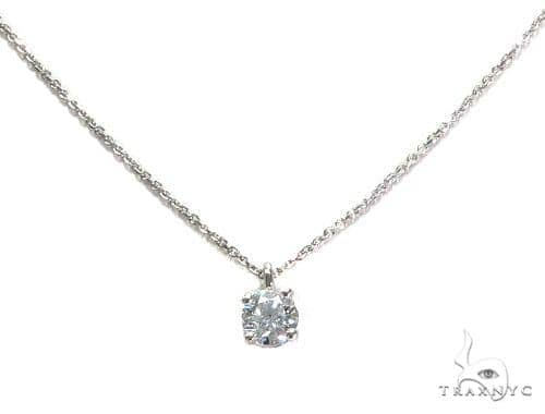 Prong Diamond Necklace 43164 Diamond