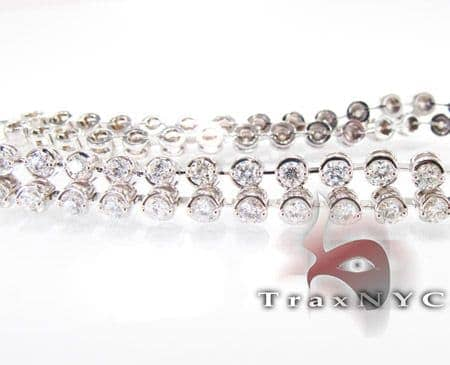 Iced Bezel Bracelet Diamond