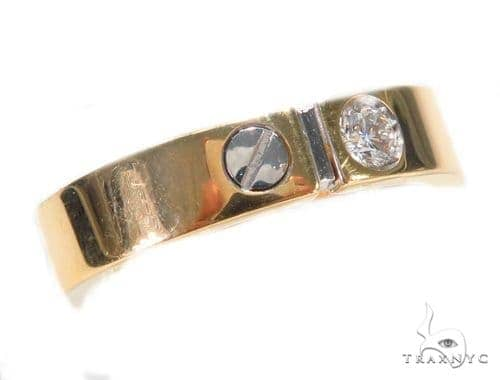 Bezel Diamond Ring 43761 Stone