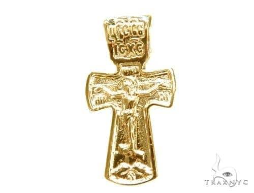 Holy Gold Cross Crucifix 43351 Gold