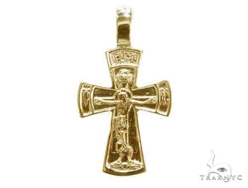 Holy Gold Cross Crucifix 43349 Gold