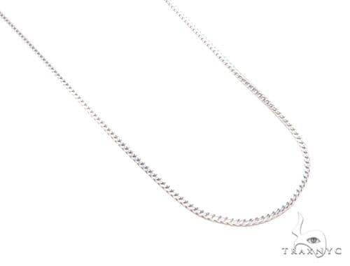 Franco Silver Chain 24 Inches 2mm 10.70 Grams 43347 Silver