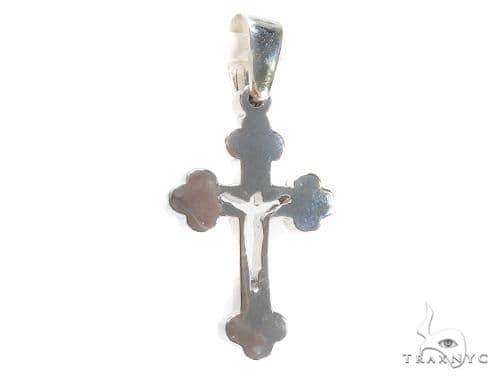 Holy Silver Cross Crucifix 43343 Silver