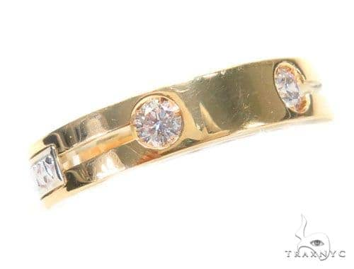 Bezel Diamond Ring 43777 Stone