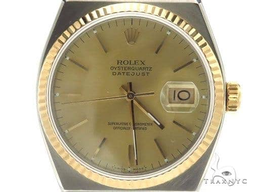Rolex Datejust Yellow Gold and Steel 17013 Diamond Rolex Watch Collection