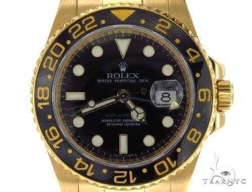 Rolex GMT-Master II Gold 116718