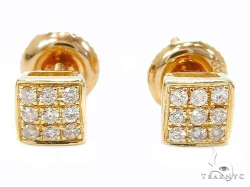 Prong Diamond Stud Earrings 40510 Style