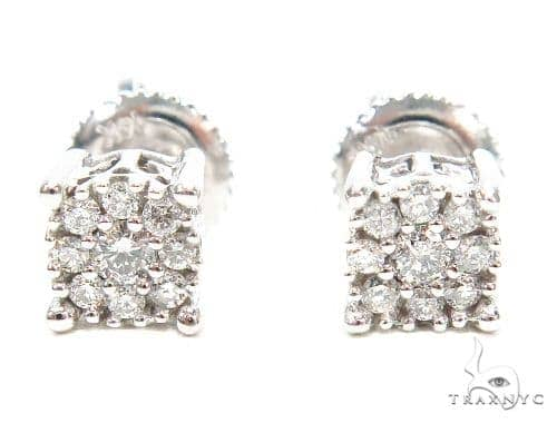 Prong Diamond Stud Earrings 42444 Style
