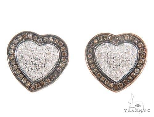 Heart Diamond Earrings 43900 10k, 14k, 18k Gold Earrings