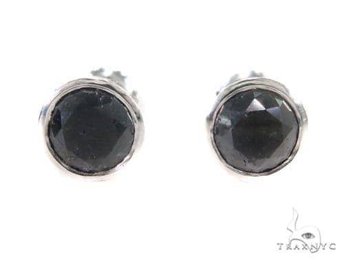 Bezel Diamond Earrings 43888 Style