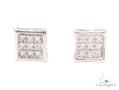Prong Diamond Earrings 43942 Style