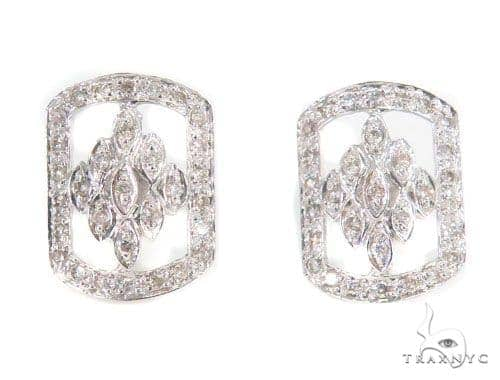 Prong Diamond Earrings 43962 10k, 14k, 18k Gold Earrings