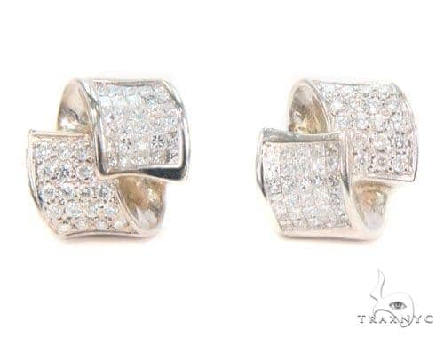 Prong Diamond Earrings 43978 10k, 14k, 18k Gold Earrings