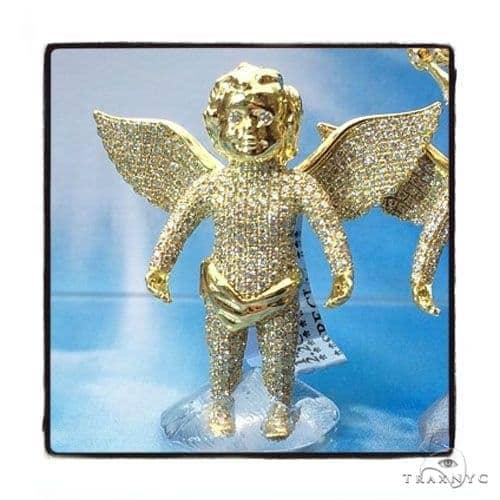 Angel Diamond Pendant 42304 Metal