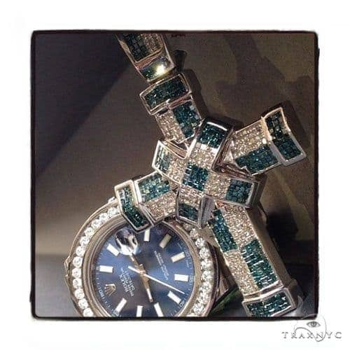 Invisible Diamond Cross Crucifix 42080 Diamond