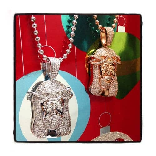 Jesus Sterling Silver Pendant 41663 Metal