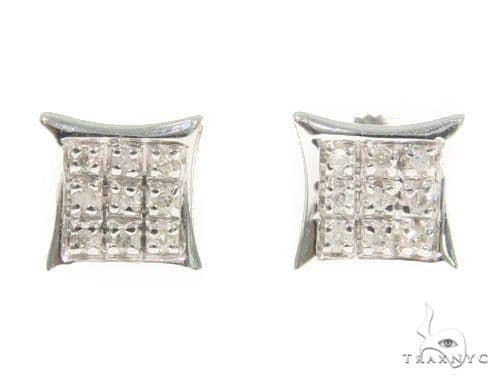 Prong Diamond Earrings 44337 Style