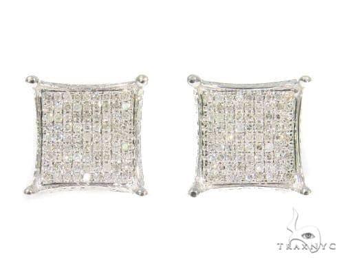 Prong Diamond Earrings 44341 Style