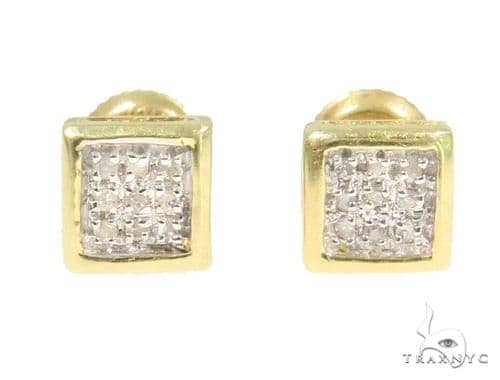 Prong Diamond Earrings 44338 Style