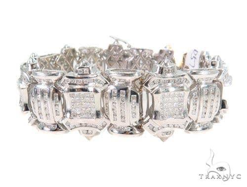 Invisible Diamond Bracelet 44057 Diamond
