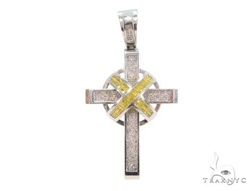 Invisible Diamond Cross Crucifix 44087 Diamond