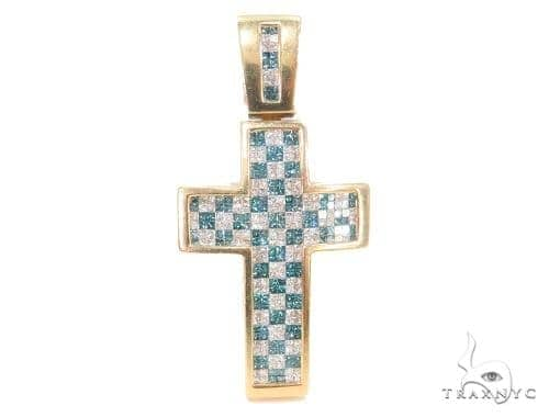Invisible Diamond Cross Crucifix 44083 Diamond
