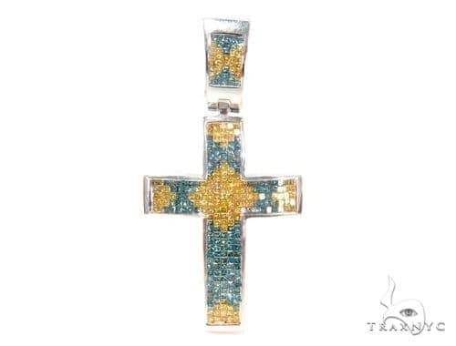 Invisible Diamond Cross Crucifix 44081 Diamond