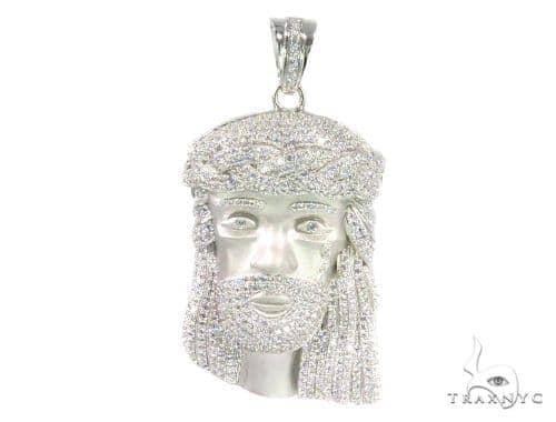 Jesus's Tear Jesus Silver Pendant 44504 Style