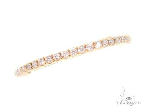 Prong Diamond Yellow Gold Ring 44485 Anniversary/Fashion