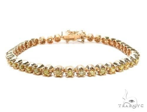Canary Diamond Bracelet 9285 Diamond