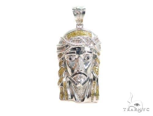 Invisible Diamond Jesus Pendant 44123 Style