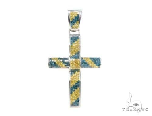Invisible Diamond Cross Crucifix 44120 Diamond