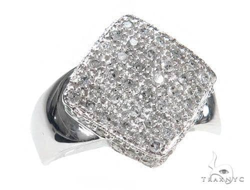 Prong Diamond Pinky Ring 44552 Style