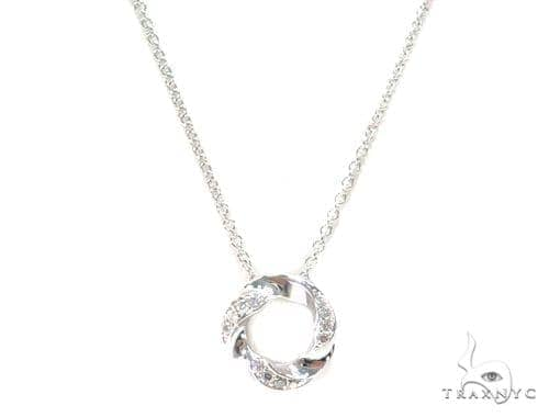 Ainos Prong Diamond Necklace 44598 Diamond