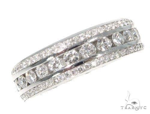 Zeus Channel Diamond Ring 44633 Stone
