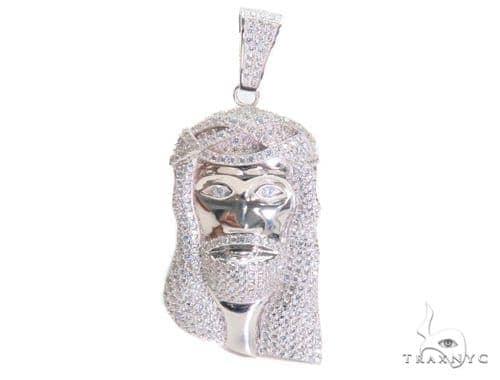 Jesus Silver Pendant 44624 Style