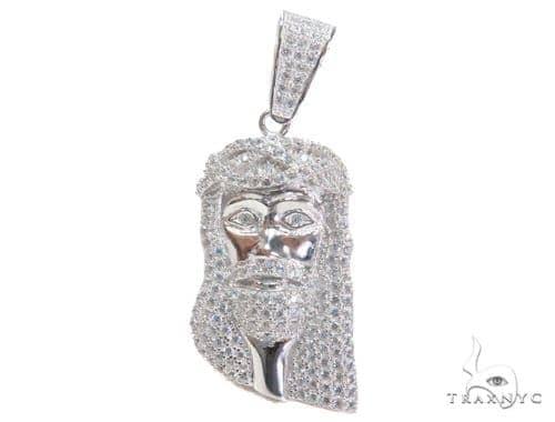 Jesus Silver Pendant 44627 Style