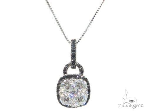 Prong Diamond Necklace 44737 Diamond