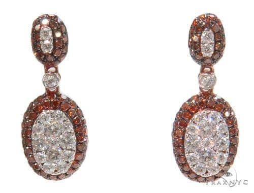 Prong Diamond Chandelier Earrings 44731 Style