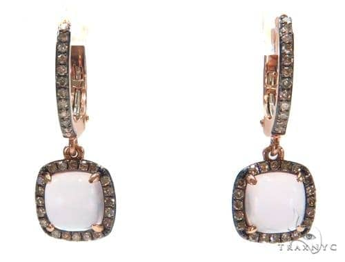 Gemstone Diamond Earrings 44752 Stone
