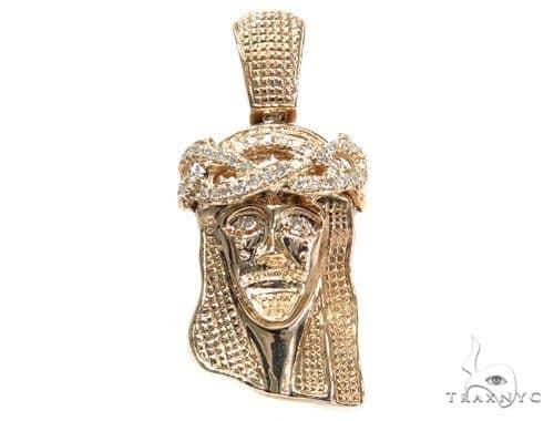 Jesus Diamond Pendant 44756 Style