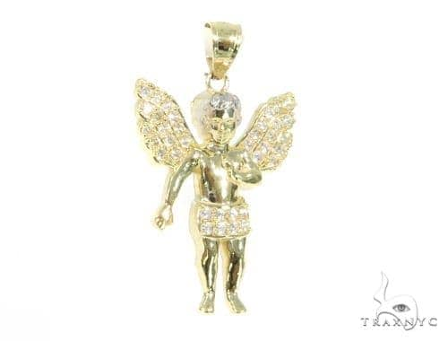Angel Gold Pendant 44939 Metal