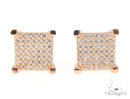 Silver Earrings 45060 Metal