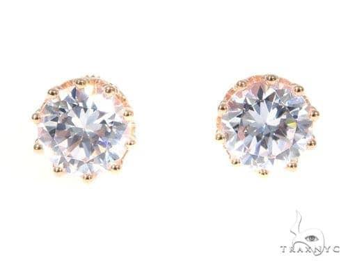 Silver  Earrings 45029 Metal