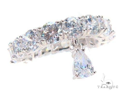 Tear Silver Ring 45043 Anniversary/Fashion