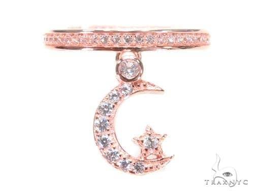 Moon Star Silver Ring 45069 Anniversary/Fashion