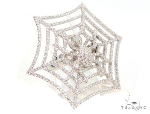 Spider Siver Ring 45092 Metal